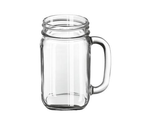 Słoik z uchem Drinking Jar Economy Line 473ml