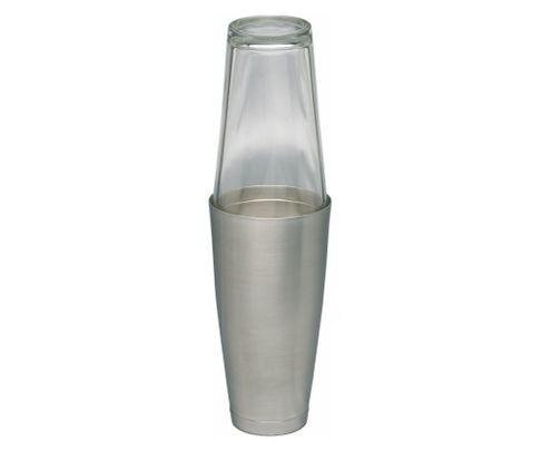 Shaker bostoński duży, obciążony, matowe wykończenie, 800ml (bez szklanicy)