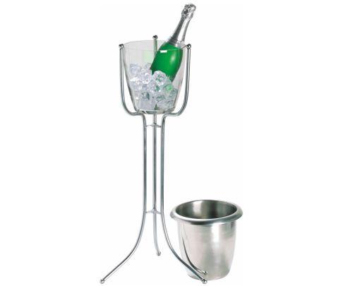 Stojak na wiaderko do szampana, składany, 68cm