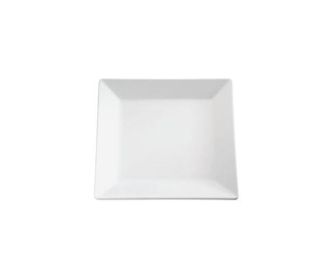 Półmisek z melaminy APS PURE, biały, kwadratowy 21x21cm