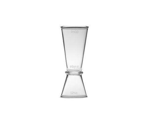 Miarka barowa (Jigger) 25/50ml, szklana