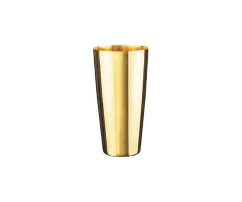 Shaker bostoński duży, stal nierdzewna, pozłacany, 880ml (bez szklanicy)
