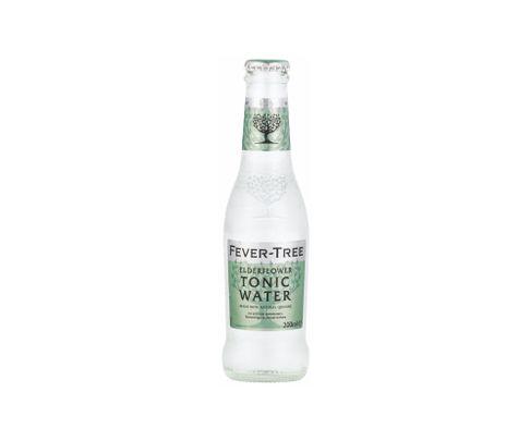 Fever Tree, Elderflower Tonic Water (kwiat bzu), butelka 200ml